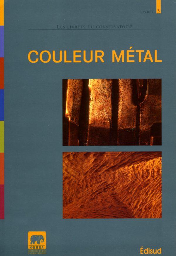 Couleur métal livre Okhra