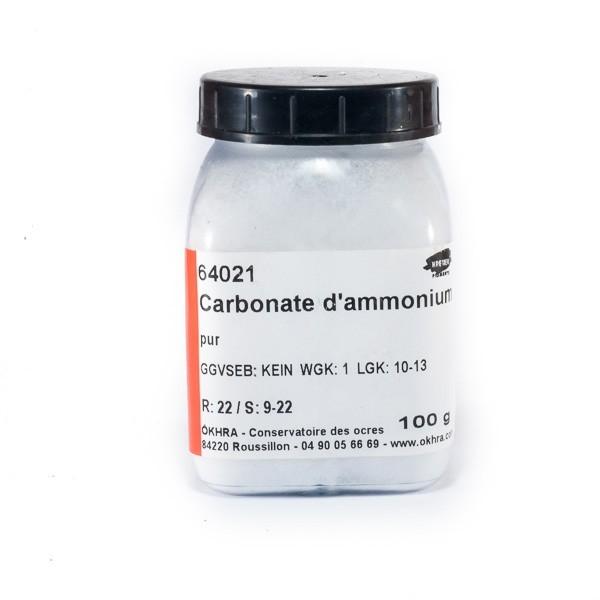 carbonate d'amonium 100gr