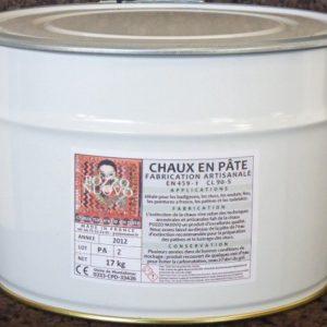 Chaux en pâte 1kg Pozzo nuovo CL90