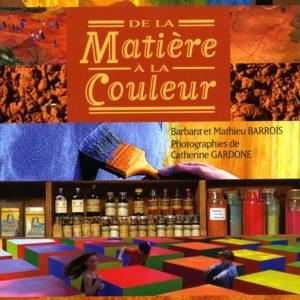 De la Matière à la Couleur, une entreprise culturelle en Provence Livre Okhra